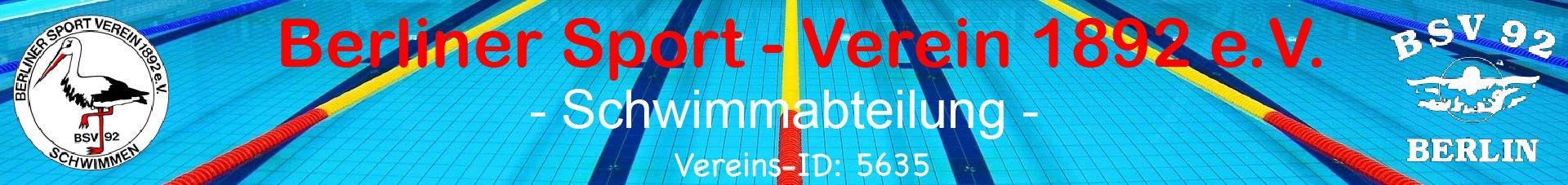 Berliner Sport-Verein 1892 e.V - Schwimmabteilung