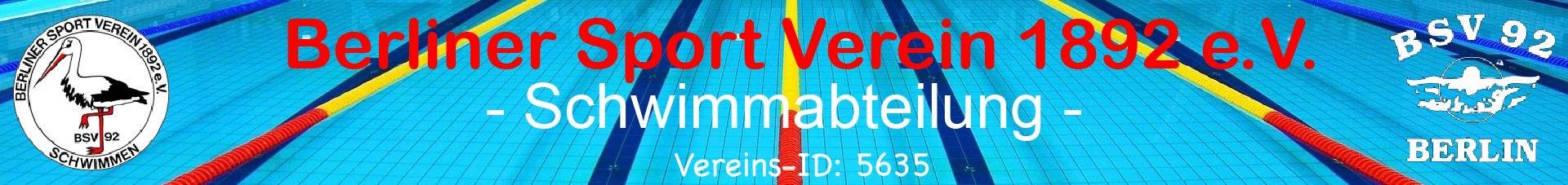 Berliner Sport Verein 1892 e.V - Schwimmabteilung
